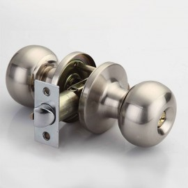 Cerradura LOBUS perilla barza cilindrica sin llave LB 10201