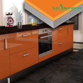 MDF laminado alto brillo Luxe naranja