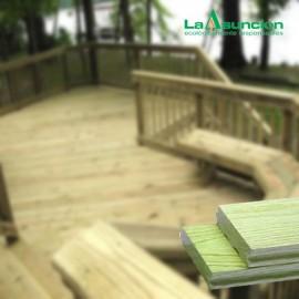 Piso Deck pino tratado