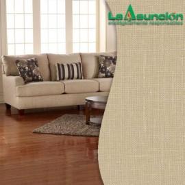 Tela para tapizar de lino color kaki