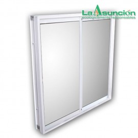 Ventana INNOVA 60x60cm vidrio opaco derecha