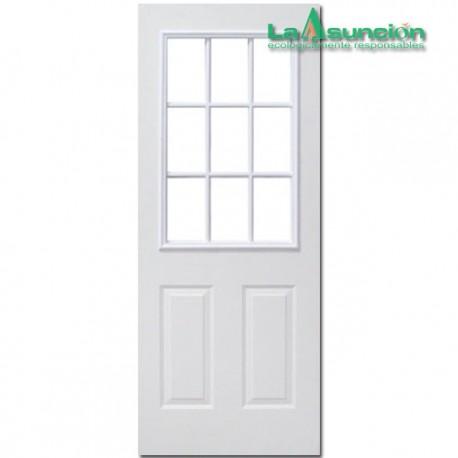 Puerta laminada 9 luces