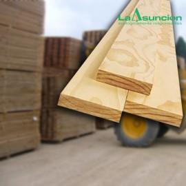 Tabla de pino secada al aire