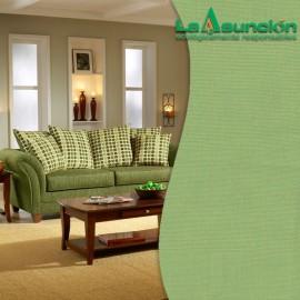 Tela para tapizar de lino color aceituna
