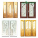 Puertas con vitral