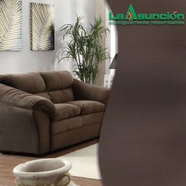 Tela para tapizar de lino color cocoa